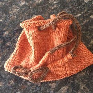 Handbags - Knitted bag, Korean jumeoni.